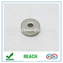 axial magnetization powerful rare earth ring magnets