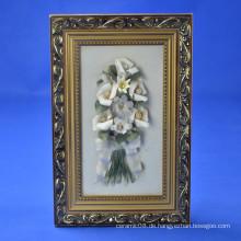 Home Hängende Dekoration Blumenrahmen Handwerk Keramik