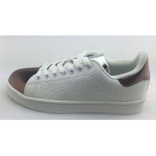 2016 Fashion Casual Skate Shoes for Women with Mirror PU