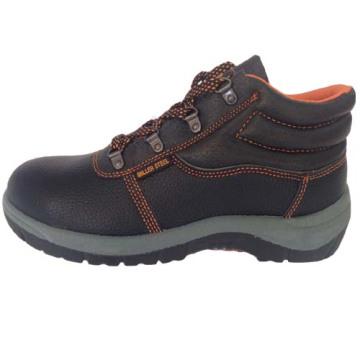 Верхний PU кожа ПВХ единственным работу безопасности обуви