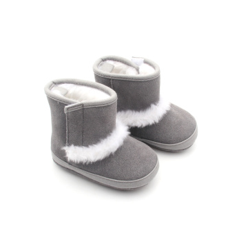 Winter Wholesale Pluche Kids Babylaarzen
