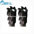 Molino de extremo cuadrado de carburo BFL, Molino de extremo de punta de bola, Fabricante de molino de extremo rugoso