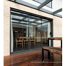Versteckte Rollen Schieben Aluminium Fenster und Türen