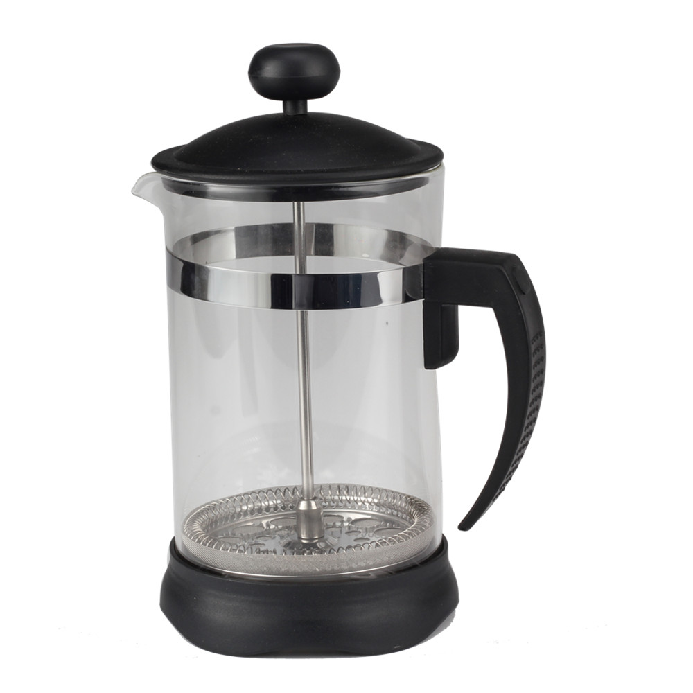 Human Mechanics Plastic Handle Design Of Glass French Press