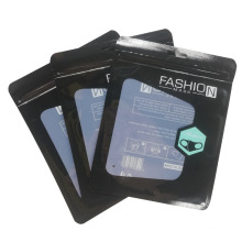 Fashion Mask Packaging Bag Plastic Bag Window Disposable Mask Ziplock Bag Package PE Face Mask Stand up Pouch Customized Logo