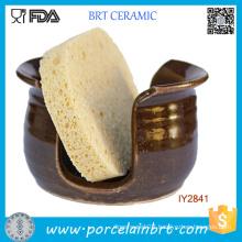 Wholesale Be Health Bathroom Ceramic Sponge Holder