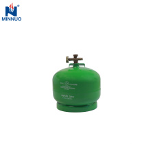 Iêmen 2 kg portátil garrafa de cilindro de propano tanque de gpl
