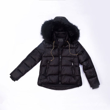 Puffy Fake Down Jacket Herbst Winter
