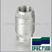 Sanitary Stainless Steel Thread Check Valve (IDEC-CV100002)