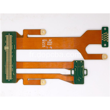 Carte PCB Rigid-Flex de masque de soudure bleu multicouche