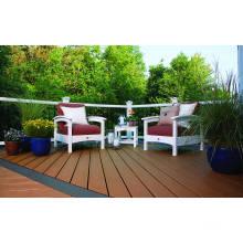 El tablero al aire libre de la cubierta de WPC del abrigo de la humedad de la alta calidad / el suelo WPC del escudo de la humedad para la venta