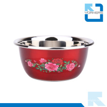 Multi-Size Personalized Stainless Steel Salad Bowls Mixing Bowls