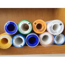 Impressão de etiquetas personalizadas BOPP Embalagem Adesivo Fita Colorida PTFE
