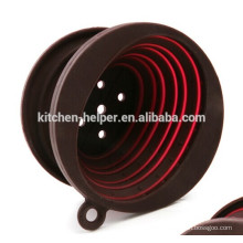 Custom China Professional Manufacturer Factory Price High Quality Food Grade Heat Resistant Collapsible Silicone Coffee Dripper