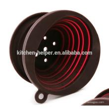 Custom China Professional Fabricante Preço de Fábrica Resistência ao Calor Resistente ao Calor Chocolate Silicone Coffee Dripper