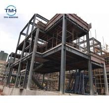 Villa prefabricada de marco de acero ligero de tablero de fibrocemento más vendido