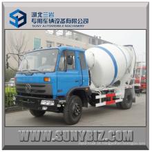 6cbm Dongfeng 4X2 caminhão misturador de concreto