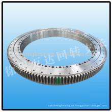 Anillo de giro de engranaje de rotación para antena de radar Cojinete de giro de alta calidad