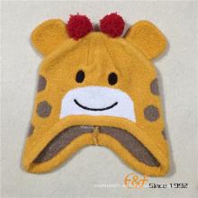 El último diseño de la llegada del OEM diseña el sombrero hecho punto invierno de los niños con Pur Pompom