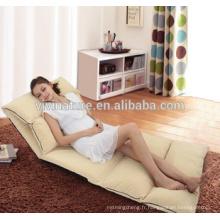 Accueil Relax Confortable Repousser l'eau Ajustable Ajustable Sans Bretelles Lit \ Loisirs Moderne Intérieur Tissu Tissu Chaise Style Canapé