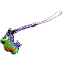 Design de mode en caoutchouc Cadeaux promotionnels Porte-clés en PVC personnalisé