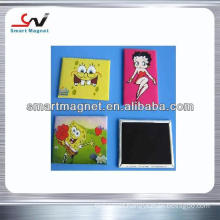 copper paper printed logo decoration promotion pvc magnet
