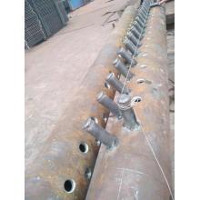 Cabezal de alimentación de caldera de piezas de caldera de vapor
