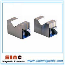 Tipo magnético magnético V base / bloque