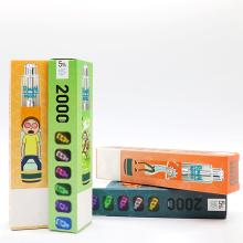 комплект электронных сигарет 2000 puff electronic