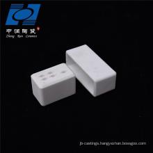 Industry Usage alumina white ceramic socket