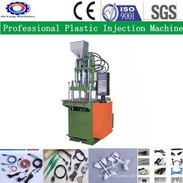 Vertikale kleine PVC-Spritzgießmaschine für Stecker verbinden