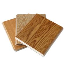 T & G pré-acabados de cor de mel de madeira sólida