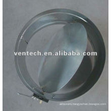 air diffuser round duct damper