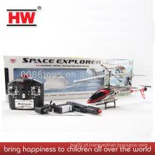 HW brinquedos 3,5 canais RC rádio controlado helicóptero com pistola RC avião