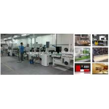 UV-Lackierlinie / UV-Beschichtungslinie für hochglänzende / MDF-UV-Beschichtungsmaschine