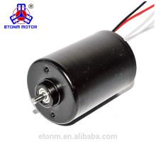 24w larga vida útil brushless mini motor de corriente continua para ventilador