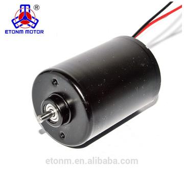 24w long lifetiem brushless mini dc motor for fan
