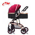 Best selling canopy baby stroller new design aluminium baby prams 3 in 1