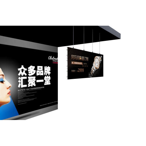 Wandbehang LED Display Werbeschirm