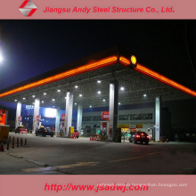 Design Space Frame Steel Structure Truss Purlin Petrol Station for 2017