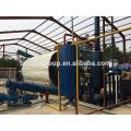 ¡El más nuevo diseño !!! China La mejor planta del aceite de la pirólisis del desecho de goma de la calidad