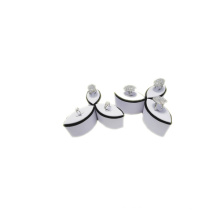 White PU Ring Display Set Wholesale (RST-6)