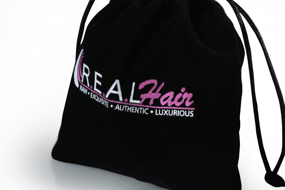 jewelry drawstring bag with logo
