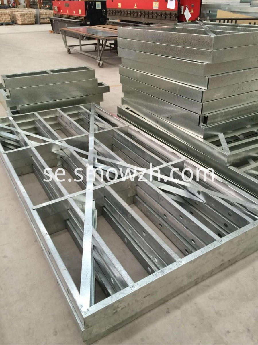 light steel wall frame