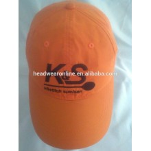 100% cotton embroidery racing cap baseball cap