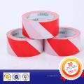 Yed & fita adesiva de advertência branca do PVC com adesivo da colagem