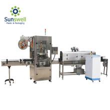 Máquina de etiquetado de mangas de túnel retráctil a vapor