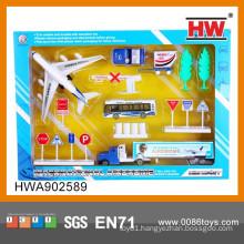Hot Sale Free Wheel Die-cast Toy Airport Play Set