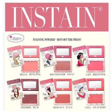 La palette de blush instantanés Balm