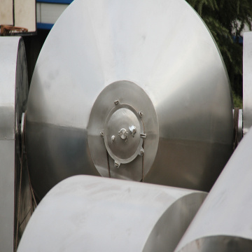 Double cone Vacuum Dryer for Zinc Sulfate material